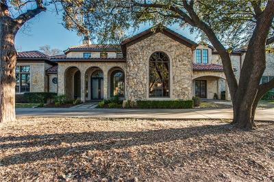 Dallas County Single Family Home For Sale: 5934 Walnut Hill Lane