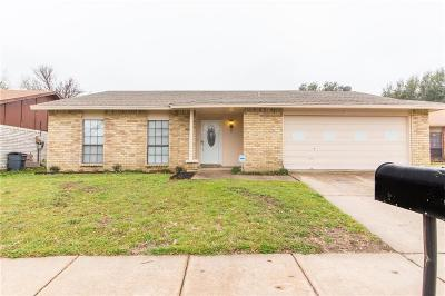 Fort Worth Single Family Home For Sale: 7616 Four Winds Drive
