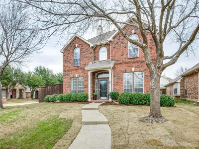 Frisco Single Family Home Active Option Contract: 10098 Cross Bend Circle