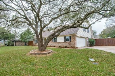 Mansfield Single Family Home For Sale: 1401 Meadow Crest Lane