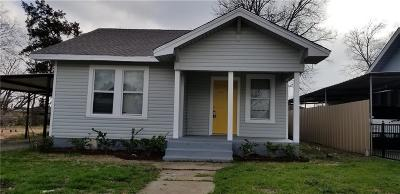 Dallas Single Family Home For Sale: 1418 Claude Street