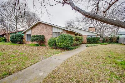 Plano Single Family Home Active Option Contract: 3107 Raintree Drive