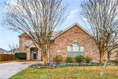 Wylie Single Family Home Active Option Contract: 3300 Warwick Court