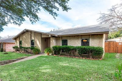 Lake Highlands Single Family Home Active Option Contract: 10815 Middle Knoll Drive