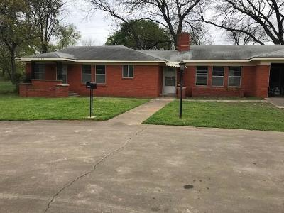 Kennedale Single Family Home Active Option Contract: 5746 Eden Road