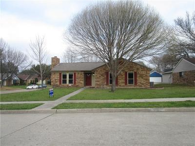 Coppell Single Family Home Active Option Contract: 991 Redcedar Way Drive