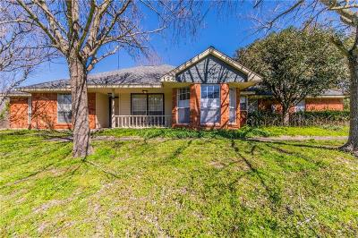 Waxahachie Single Family Home Active Contingent: 124 Keowee Circle