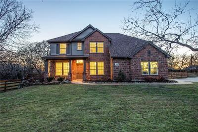 Flower Mound Single Family Home Active Contingent: 4821 Mesquite Street