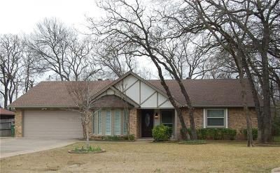 Hurst Single Family Home Active Option Contract: 3044 Steve Drive