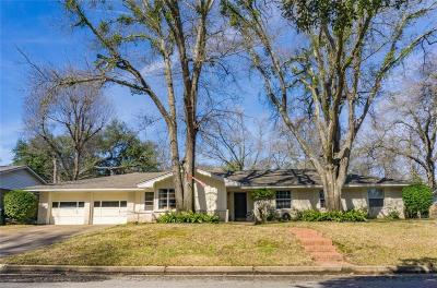Tyler Single Family Home For Sale: 619 Zelwood Drive