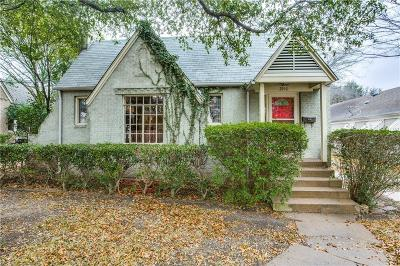Dallas County Single Family Home Active Option Contract: 2916 Dyer Street