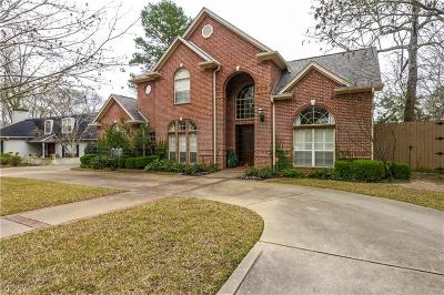 Tyler Single Family Home For Sale: 1500 Woodlands Drive