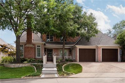 Dallas County Single Family Home For Sale: 6908 Forest Cove Circle