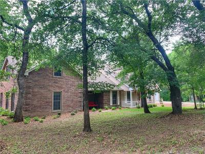 Aledo Single Family Home Active Kick Out: 1285 Old Annetta Road