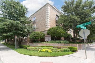 Preston Hollow, Preston Hollow Rev Condo For Sale: 6605 Bandera #2F