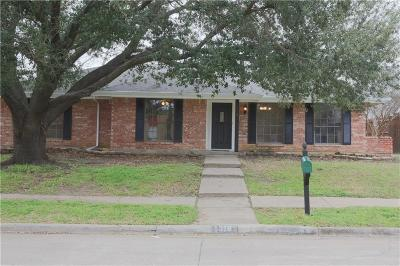 Lewisville Single Family Home Active Option Contract: 1316 Lark Lane