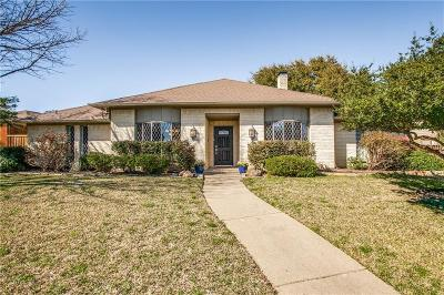 Plano Single Family Home Active Option Contract: 2905 Shalimar Drive