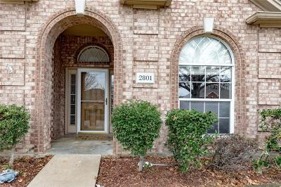 Mansfield Single Family Home For Sale: 2801 Saint Charles Drive