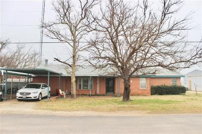 Throckmorton County Single Family Home For Sale: 109 E Church Street