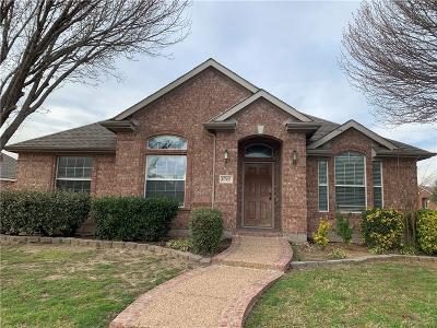 Allen Single Family Home For Sale: 1715 Mineral Springs Drive