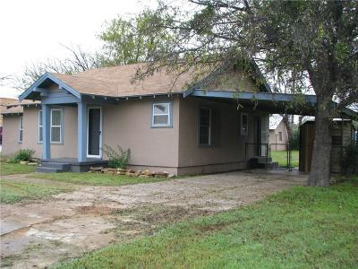 Eastland County Single Family Home For Sale: 408 W 12 Street