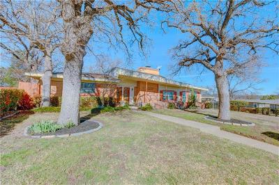 Fort Worth TX Single Family Home For Sale: $174,900
