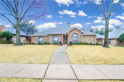 Plano Single Family Home Active Option Contract: 4506 Hartford Drive