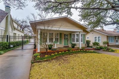 Fort Worth Single Family Home Active Contingent: 2512 Shirley Avenue