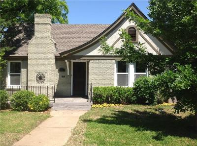 Single Family Home For Sale: 2205 Stanley Avenue