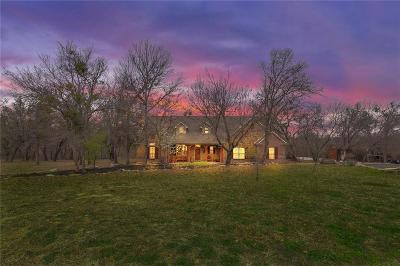 Parker County Single Family Home Active Option Contract: 914 S Savage Creek Lane