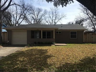 Farmers Branch Single Family Home Active Option Contract: 13826 Sundown Trail