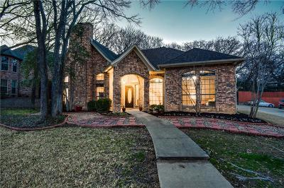 Grapevine Single Family Home Active Option Contract: 3224 High Meadow Drive