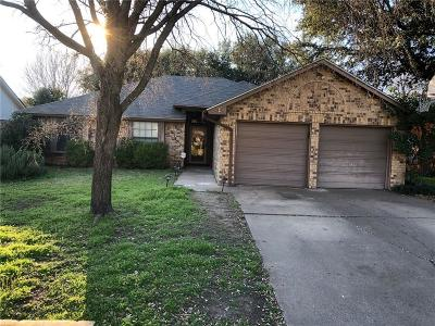 North Richland Hills Single Family Home Active Option Contract: 6745 Mesa Drive