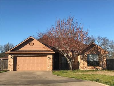 Terrell Single Family Home Active Contingent: 123 Stonebriar Way