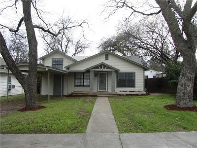 Weatherford Single Family Home For Sale: 521 W Bridge Street