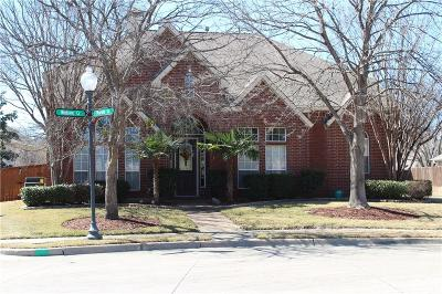 Keller Single Family Home Active Option Contract: 1825 Windsong Circle