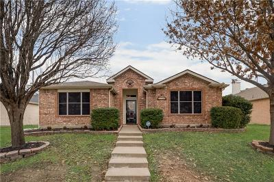 Wylie Single Family Home Active Option Contract: 3208 Springwell Parkway