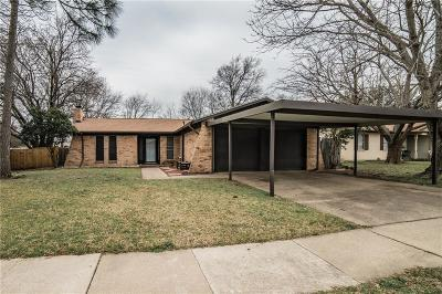 Saginaw Single Family Home Active Option Contract: 505 Mustang Drive