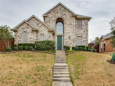 Carrollton Single Family Home Active Option Contract: 3728 Menard Drive