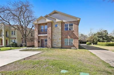 Fort Worth Multi Family Home For Sale: 3408 S University Drive