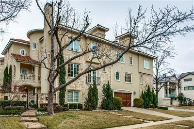 Dallas County Condo For Sale: 4500 Fairway #F