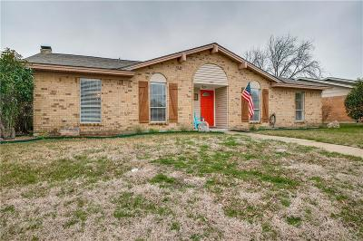 Garland Single Family Home Active Option Contract: 1510 Glouchester Drive