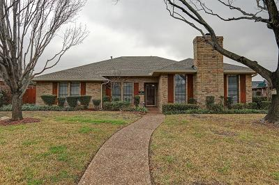 Carrollton Single Family Home Active Option Contract: 1604 Silverleaf Drive