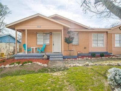 White Settlement Single Family Home Active Option Contract: 7913 Tumbleweed Trail