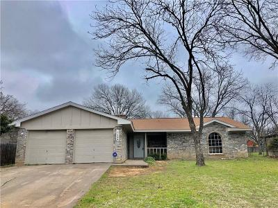 Azle Single Family Home For Sale: 125 Mountain View Drive