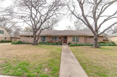 Richardson Single Family Home Active Option Contract: 907 N Waterview Drive