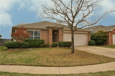 Fort Worth Single Family Home Active Contingent: 8301 Horse Whisper Lane