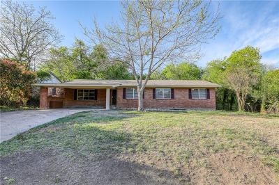 Weatherford Single Family Home For Sale: 1438 W Water Street