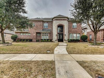 Plano Single Family Home Active Option Contract: 8825 Country Glen Crossing