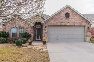 Weatherford Single Family Home Active Contingent: 2234 Kaitlyn Drive